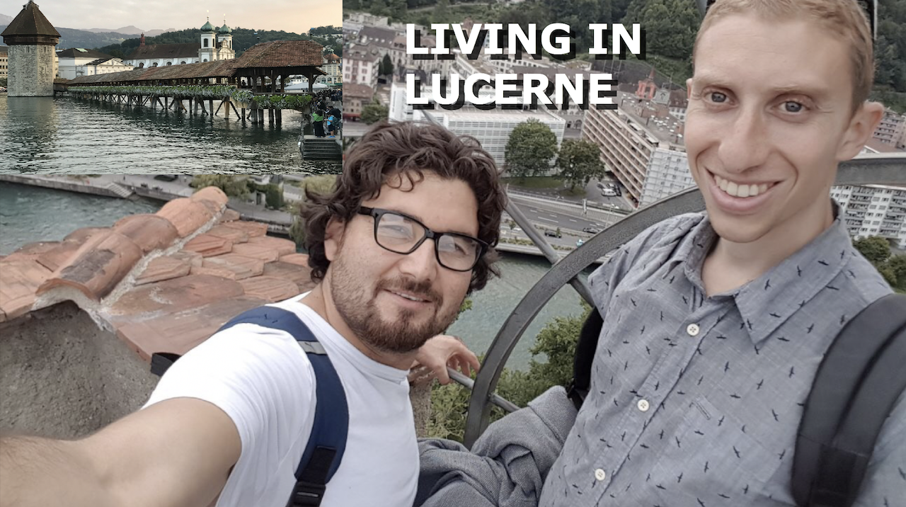 Taking In Swiss Beauty With A Refugee In Lucerne