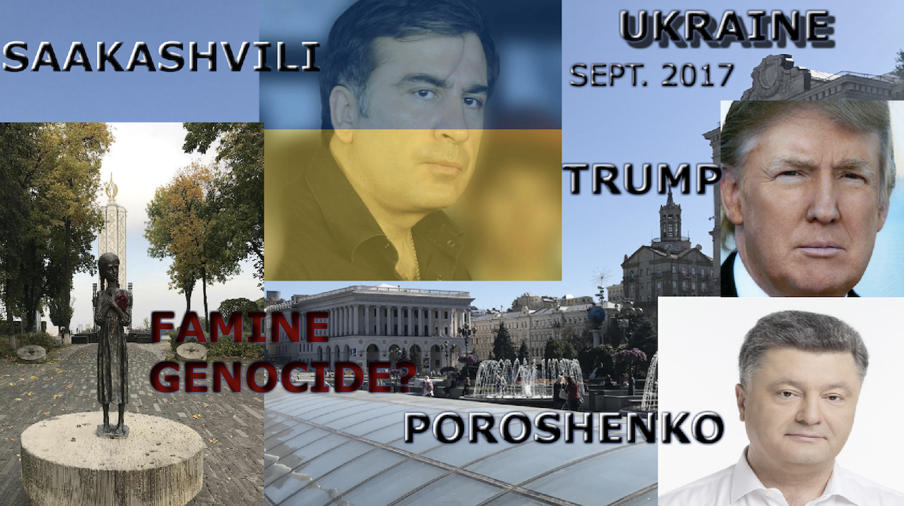 Trading Places? Poroshenko To The States, Saakashvili To Kiev In This Week's News From Ukraine