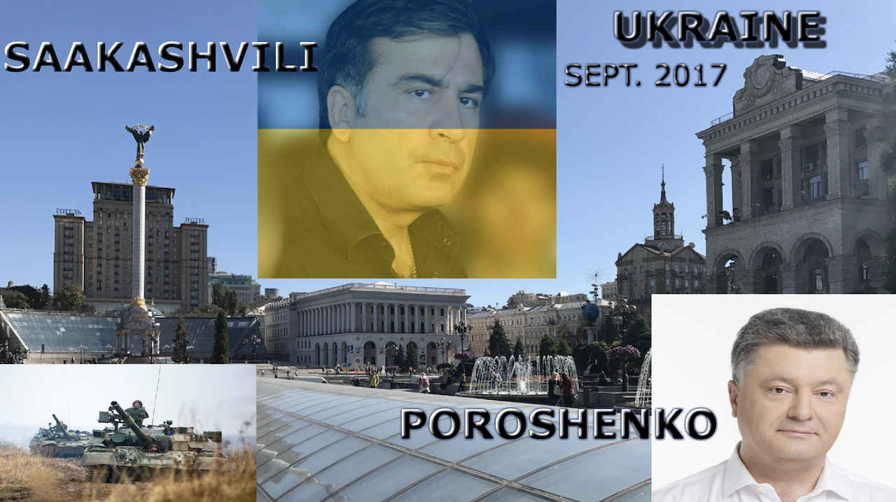 Ukraine September 2017: Saakashvili, War, Peace & War Games