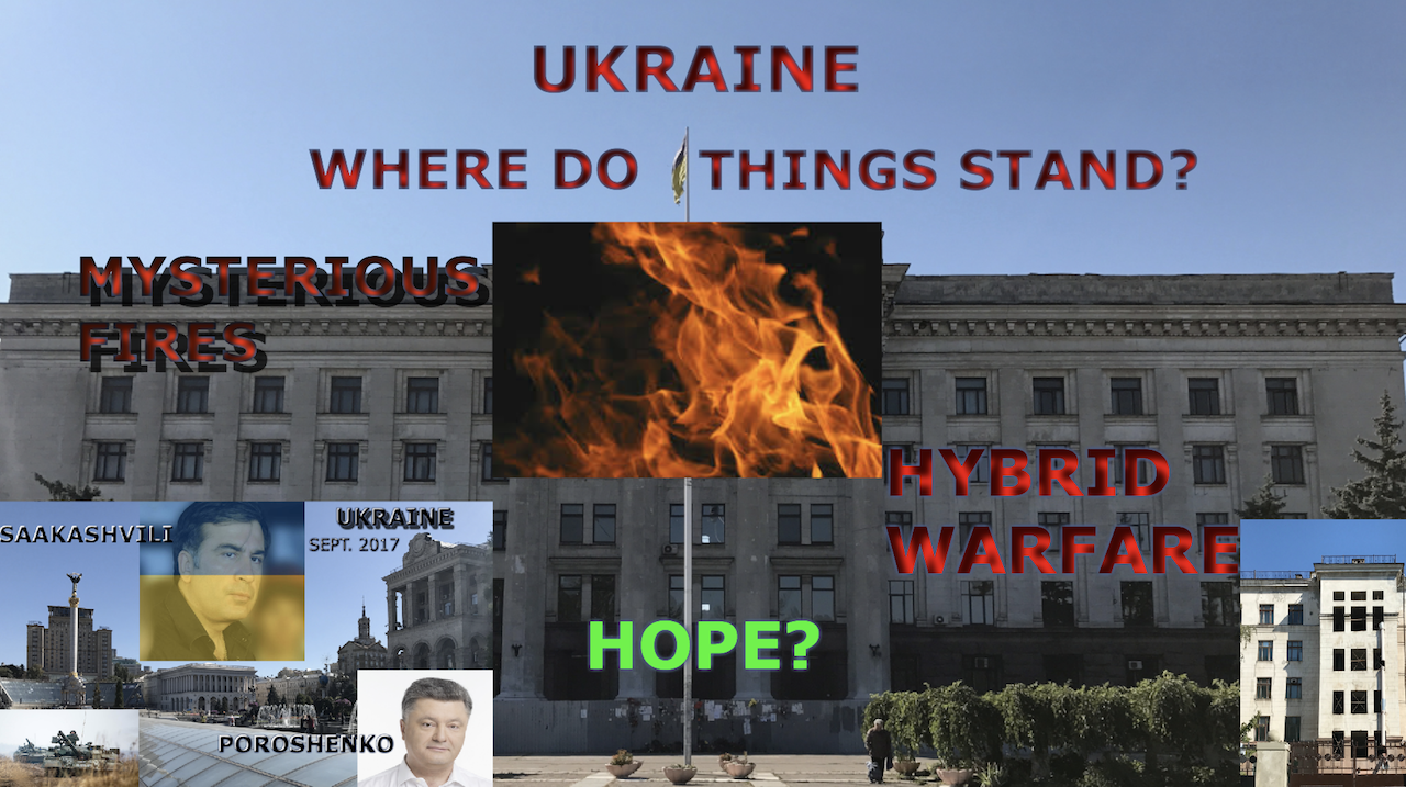 Ukraine In Review: From The Site Of The Deadly Odessa Blaze