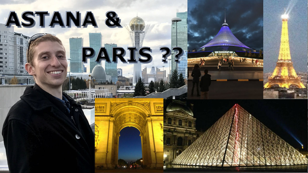 Does Astana, Kazakhstan Resemble Paris, France?