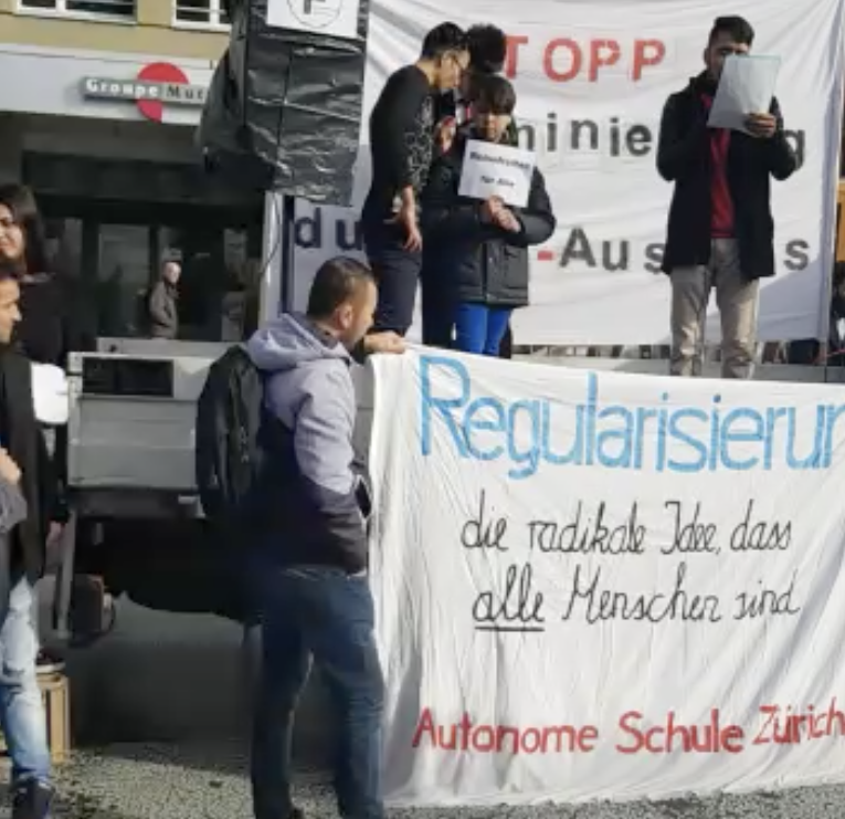 Hundreds Of Afghans Protest In Switzerland, Demand Better Status