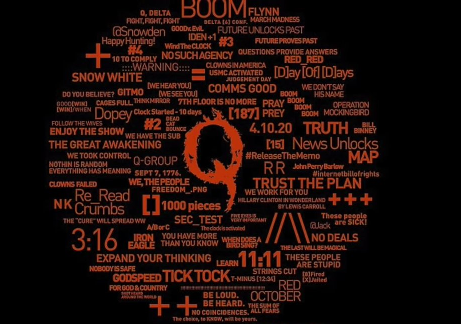 From Q Anon to Q Identified: Masks Off!