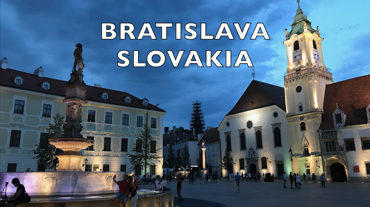 Bratislava, Slovakia: Stuck In The Middle Of Europe
