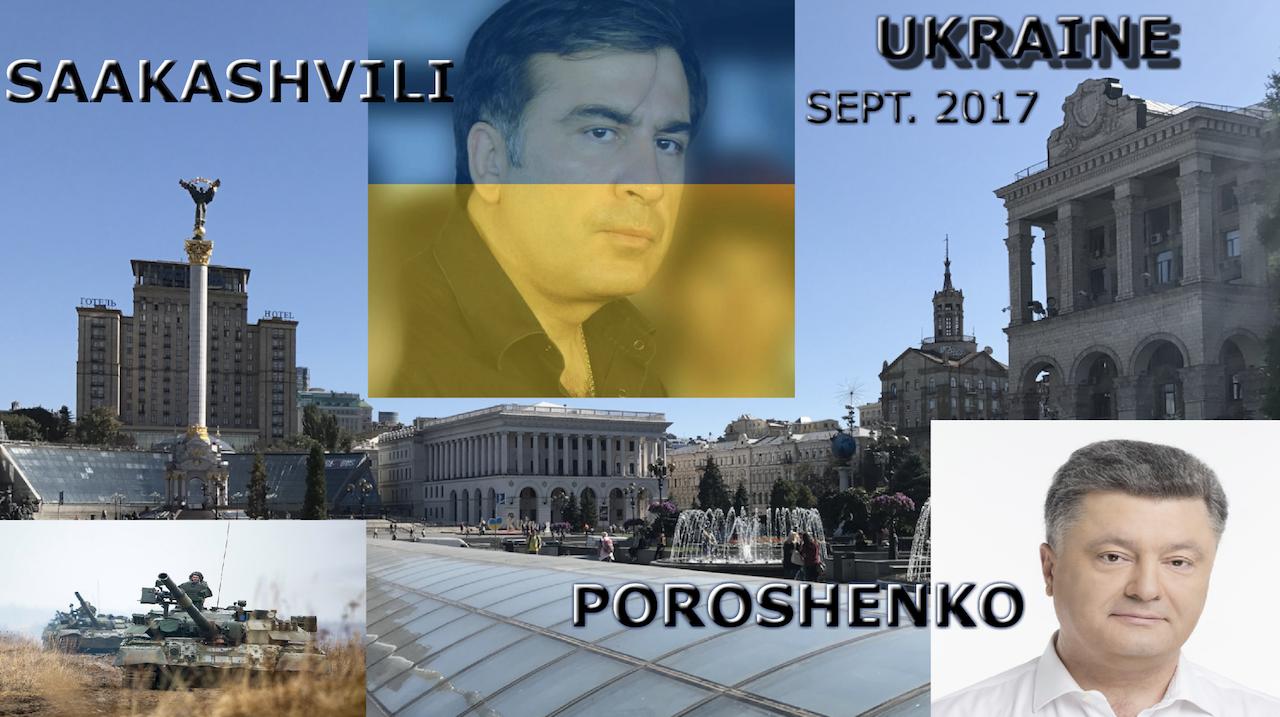 Ukraine September 2017: Saakashvili, War, Peace & War Games